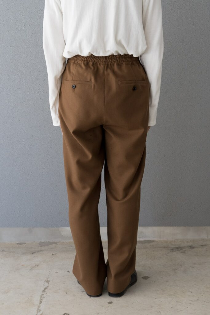 The CLASIK 21AW BOXER TROUSER